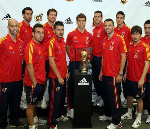 Spanish National team players