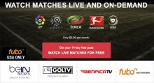 fubotv Premier League TV and Internet Schedule For U.S. Viewers