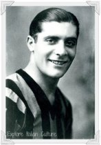 Giuseppe Meazza, one of the greatest ever playes on the Italian national soccer team