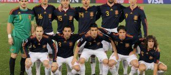 2010 Spain World Cup team