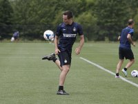 Steve Nash warms up before his try-out with Inter Milan in Whippany, New Jersey. (Photo: Amy Sussman/AP Images for Guinness)
