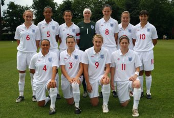 England International team