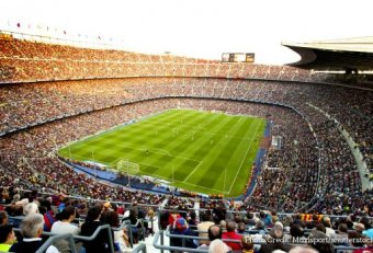 Soccer games in Barcelona