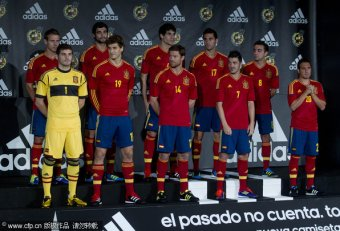Spain national Soccer team players