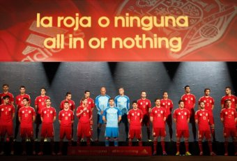 Spain national team for World Cup 2014