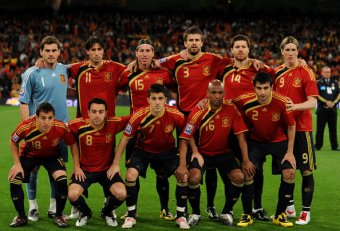 Spanish World Cup team