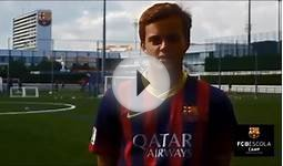 2014 FC Barcelona Summer Soccer Camps and Football Fútbol