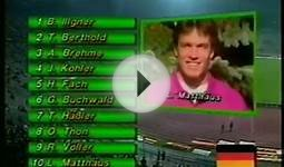 1990 FIFA World Cup (Qualifiers) - W.Germany vs Netherlands