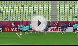 2012_06_09 Spain National Team Training Session part 1