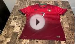 Authentic Nike Portugal 2014 Home and Away Soccer Jerseys