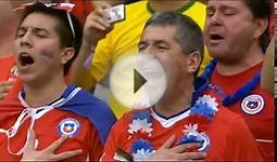Chile National Anthem vs Spain in world cup 2014