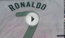 Cristiano Ronaldo Autographed Portugal Soccer Jersey