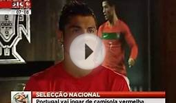 Cristiano Ronaldo Interview About NEW Portugal Home Kit