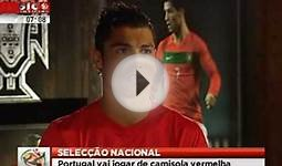CRISTIANO RONALDO presents the new Portugal equipement for