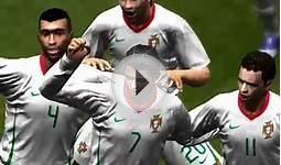 Cristiano Ronaldo Spain v Portugal Game Play