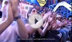 David Guetta Flashing T-Shirts Colombia.wmv