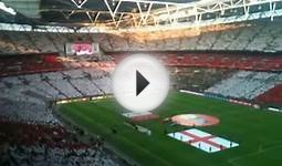England (National Anthem) vs Mexico