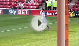 English Soccer Player Scores Corkscrew Goal With The