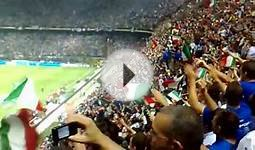 Euro 2008 qualifier,italy-france, italian national anthem,