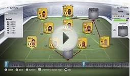 FIFA 14 - Italian National Squad - Squad Builder