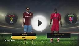 FIFA 15 - Belgian Pro League Ratings & Kits (PS4/Xbox One)