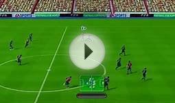 FIFA Soccer 10 Nintendo Wii Gameplay - Barcelona vs. Arsenal