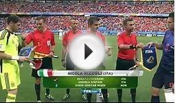 fifa world cup 2014 group b spain vs netherlands