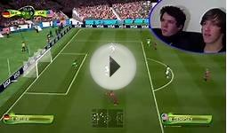 FIFA World Cup: Germany vs USA (FIFA14 Gameplay)