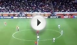 FIFA World Cup Soccer 2010 Spain 1-0 Portugal Goal And