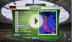 Germany World Cup Lineup Spoof