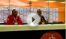 Ghana vrs Netherlands post match press conf by coach James