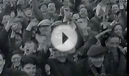 Glasgow Rangers Scottish cup vintage film