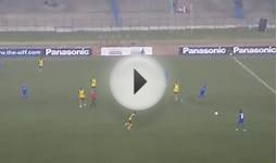 Indian football team 18 passes and goal!(Salt Lake Stadium