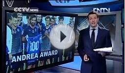 Italy´s Pirlo wins 100th cap CCTV News - CNTV English