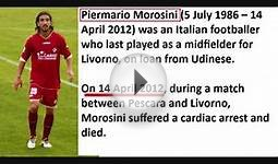 List of Football players Soccer who died on the field from