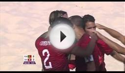 Meet the Portuguese beach soccer player who is better at