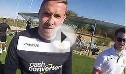 Motherwell in Portugal: Player cam