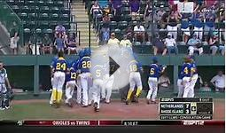 NETHERLANDS LLWS BAD SPORTSMANSHIP