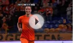 Netherlands vs Hungary 2014 World Cup Qualifiers match