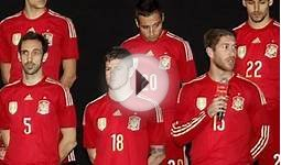 New Spain World Cup 2014 Kit- Adidas Spain Red Home Jersey