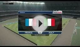 PES Pro Evolution Soccer 2015 - France vs Italy (Gameplay)