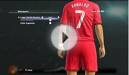 PORTUGAL NEW KIT HOME WORLD CUP 2014 HD [PES 2013