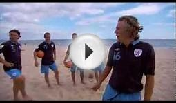 Preview: Jimmy Bullard meets the England Beach Soccer Team