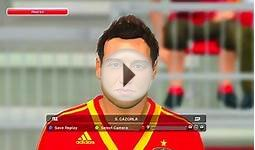 Pro Evolution Soccer 2014 (PES 2014) - Spain Player Faces