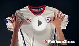 Puma Chile 2014 Away Soccer Jersey - Unboxing