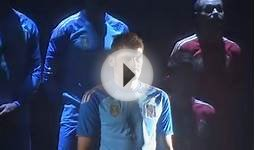 RAW VIDEO: Red Is the Color as Spain Unveil World Cup Kit