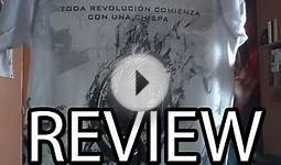 Reviewing Hunger Games Catching Fire T-Shirt (spanish edition)