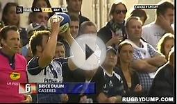 Rugby in France 2012 2013 round 03 Top 10 tries