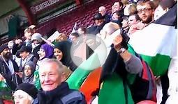 Scottish solidarity with Palestine at football game