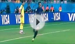 Spain v Holland: World Cup 2014 GOAL Robin van Persie